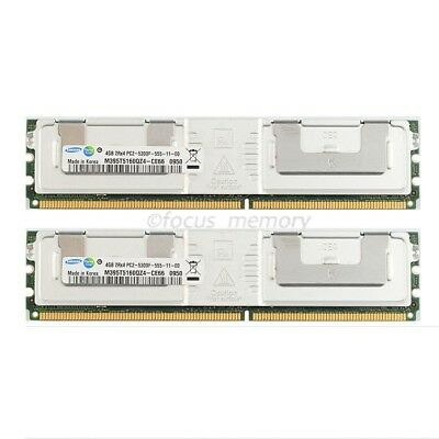 8GB 2x4GB RAM FOR Dell PowerEdge 2950 667Mhz FB DIMM DDR2 PC2-5300F Samsung Ram