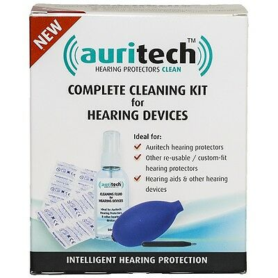 Auritech Universal Complete Cleaning Kit For Hearing Aids Devices & Ear Plugs