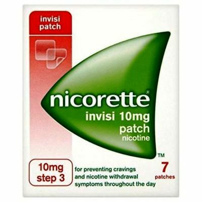 Nicorette Invisi Nicotine Patches Step 3 - 10 Mg 7 patches