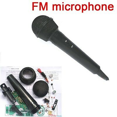 FM 88MHz-108MHz FM Wireless Microphone Radio DIY Electronic Learning Kit