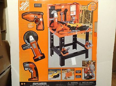 Home Depot Deluxe Carrying Case Workbench - Extra Parts!!  (#IB-L15)