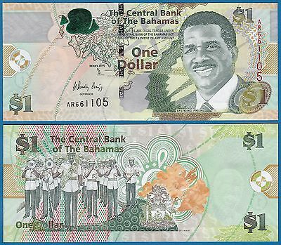 Bahamas 1 Dollars P 71A 2015 UNC Low Shipping! Combine FREE! New 71 A