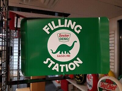 Sinclair  50S Era Spinning Wall Mount Advertising Sign