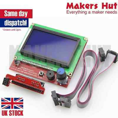 12864 LCD Controller with SD card slot for Ramps 1.4 - Reprap 3D Printer Display