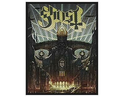 Official Licensed - Ghost - Meliora Woven Sew-On Patch Metal Sweden