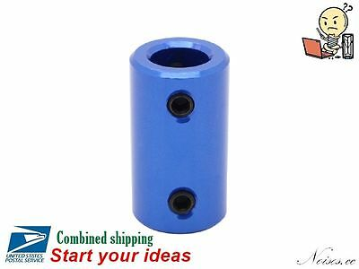 D14L25 Multi-size Aluminunm Motor Shaft Rigid Coupling 3D Printer CNC Model DIY