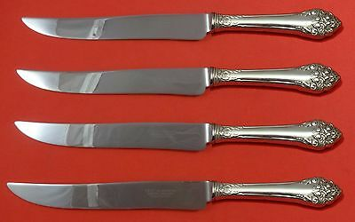 Fragrance by Reed and Barton Sterling Silver Steak Knife Set Texas Sized Custom