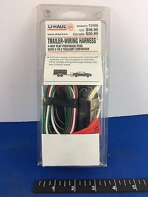 NEW - UHAUL Trailer Wiring Harness #13486 - $12.50 | PicClick Uhaul Trailer Wiring Harness on uhaul trailer interior, uhaul trailer parts, uhaul trailer hitches, uhaul trailer lights, uhaul trailer electrical, uhaul trailer harness, uhaul trailer connectors, uhaul trailer wheels, uhaul trailer dimensions,
