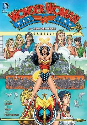 Wonder Woman by George Perez Omnibus HC by George Perez (English) Hardcover Book