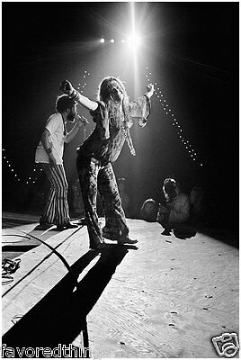 Janis Joplin 1969 On Stage At Woodstock    8X10 Photo #325