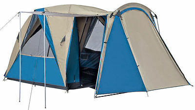 Oztrail Breezeaway 4 Person Dome Camping Hiking Tent Brand New (Dtc-B4Vp-D)