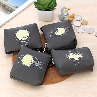 Lovely design Studio Ghibli My Neighbor Totoro coin card Wallet Purse Waterproof