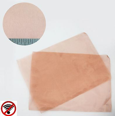 SuperFine - #100 Copper RFI Screen Mesh 99.9% Copper - 2 PACK (A4 Sheet x 2)