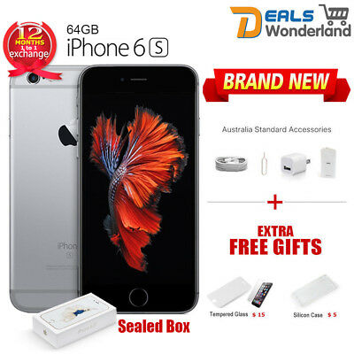 Sealed Box Apple iPhone 6S 64GB Mobile Phone Space Grey Unlocked Hot Sale