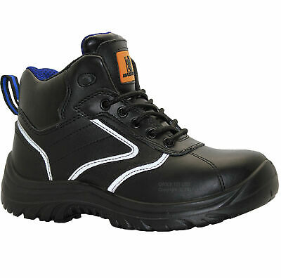Mens Lightweight Safety Steel Toe Cap Work Ankle Hiking Boots Trainers Shoes New