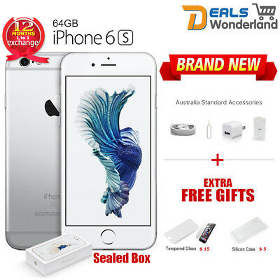 New Unlocked Apple iPhone 6S 64GB Smartphone Mobile Phone Silver