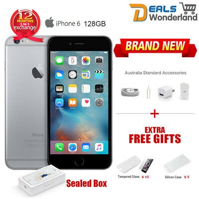 New Unlocked Apple iPhone 6 128GB Smartphone Mobile Phone Space Gray