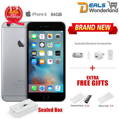 New Unlocked Apple iPhone 6 64GB Smartphone Mobile Phone Space Gray