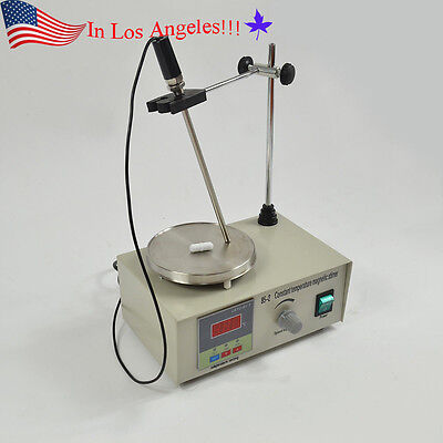 Magnetic Stirrer with Heating Plate 85-2 Hotplate mixer 110V Digital Display US