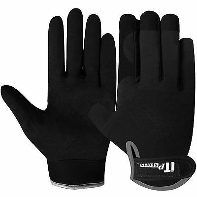 Mechanics Gloves Worker Work Safety Tradesman Farmer Gloves Black