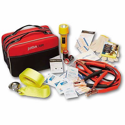 Emergency Car Safety Kit Complete Road Trip Essentials Auto Travel Assistance