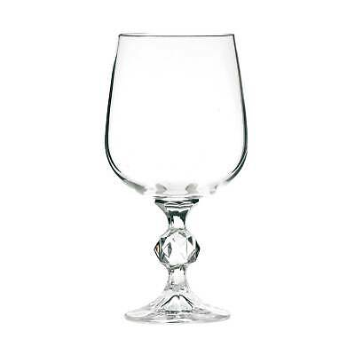 Claudia Crystal Red Wine Glasses 340ml - Set of 6 - Bohemia Klaudie Goblets