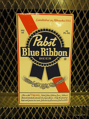 "PBR PABST BLUE RIBBON Beer ~ NEW ~ STICKER 3 1/4"" X 5 1/2"" Decal"