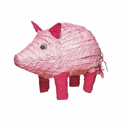 Pink Pig Party Pinata - Fun games for animal party