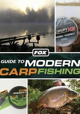 Fox Guide to Modern Carp Fishing by Andy Little Paperback Book (English)