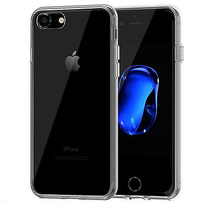 Funda Para Iphone 7 Plus Carcasa Gel Silicona Flexible Transparente Clear