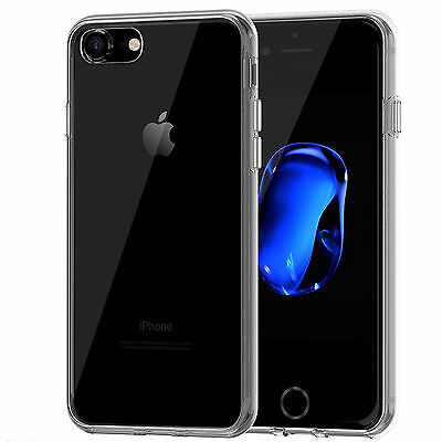 Transparente TPU Gel Silicona Carcasa Funda Case Cover para iPhone 7
