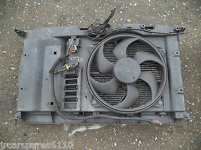 2006 Citroen C4 1.6 16V Petrol Radiator Pack With Air Con
