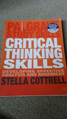 Effective critical thinking skills