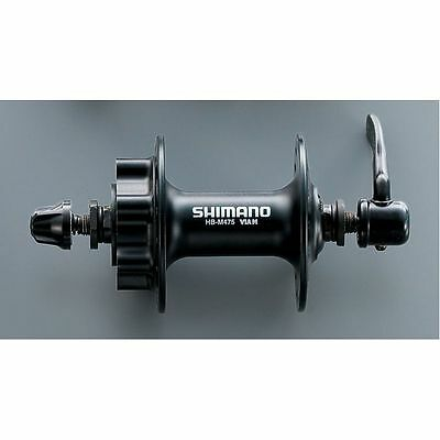 Shimano Deore M475 Front 36H 6 Bolt Disc Hub Black