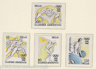 Mnh Olympic Games Stamp Set 1996 Atlanta Olympics Greece