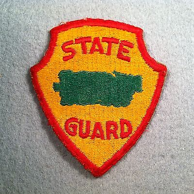 Post WW2 Puerto Rico State Guard Cut Edge SSI Patch 223L
