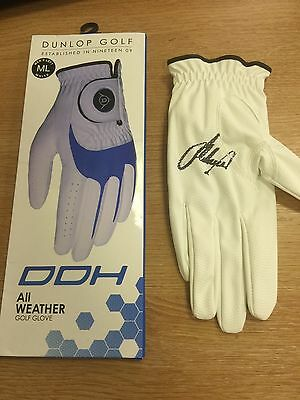 Lee Westwood Hand Signed Golf Glove Dunlop With Coa