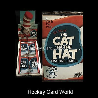 (HCW) 2003 Comic Dr. Seuss The Cat In The Hat Trading 7 Card Sealed Hobby Pack