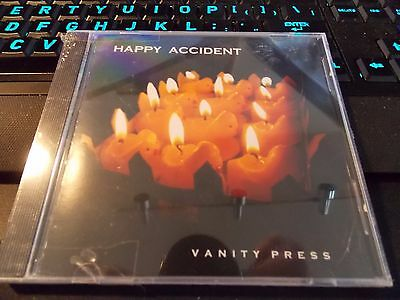 Vanity Press by Happy Accident, CD (2005-10 Gev Records) NEW & SEALED CD