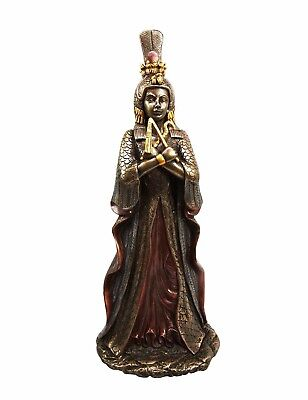 """12"""" Height Ancient Egyptian Queen Goddess Isis Cleopatra Decorative Figurine"""