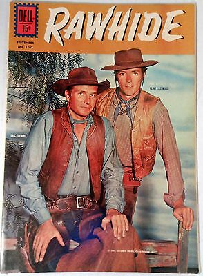 Rawhide (Dell Comic #1202 - July/Sept 1961) FREE SHIPPING