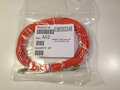 New fibre optic patch cord cable LC(D), 2MM ZIP, 50/125, OFNP, 10m ID:038003348