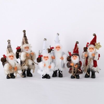 Christmas Tree Decor Candy Bag Ornaments Xmas Decor Santa Claus Party Decor