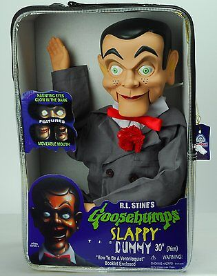 """Slappy Dummy Ventriloquist Doll Famous """"Star of Goosebumps"""" *NEW*"""