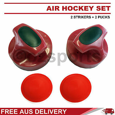Air Hockey 1 Accessory Pro Set: 2 Pushers + 2 Pucks Free AUS Postage