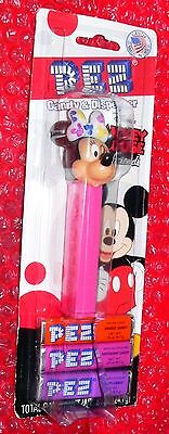 Pez  Winking Minnie Mouse  on Disney Mickey Mouse & Friends card