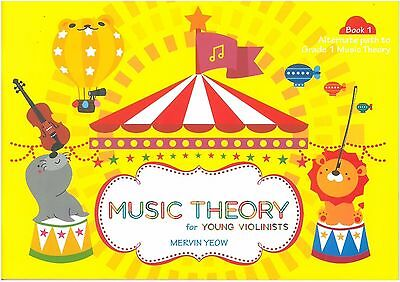 Music Theory for Young Violinists Book 1 - Mervin Yeow - 9789671386101  ** New