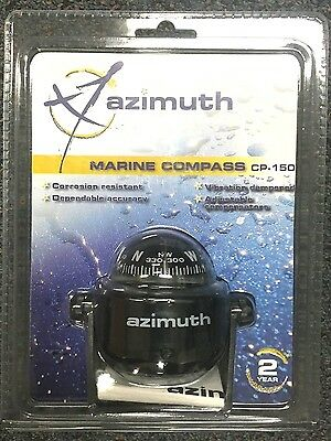 New Azimuth Compass - 150 Series Bracket Mount CP150 BLA 231510 Marine Black