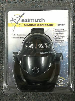 NEW Azimuth Compass - 200 Series Bracket Mount CP200 BLA 231530 Marine Black