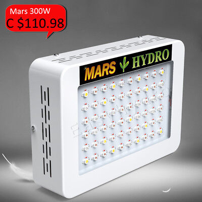 300W LED Grow Light Lamp Full Spectrum Panel Veg Flower Indoor Plants True 135W